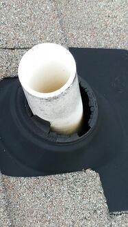 cracked pipe boot