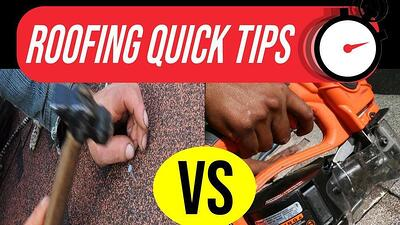 Video: Air Gun vs. Hand Nailing: Which Roof Installation is the Best?