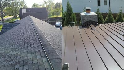 How Much Does a Metal Roof Cost Compared to an Asphalt Roof?