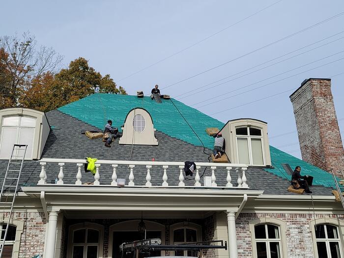 Bill Ragan Roofing roof installation