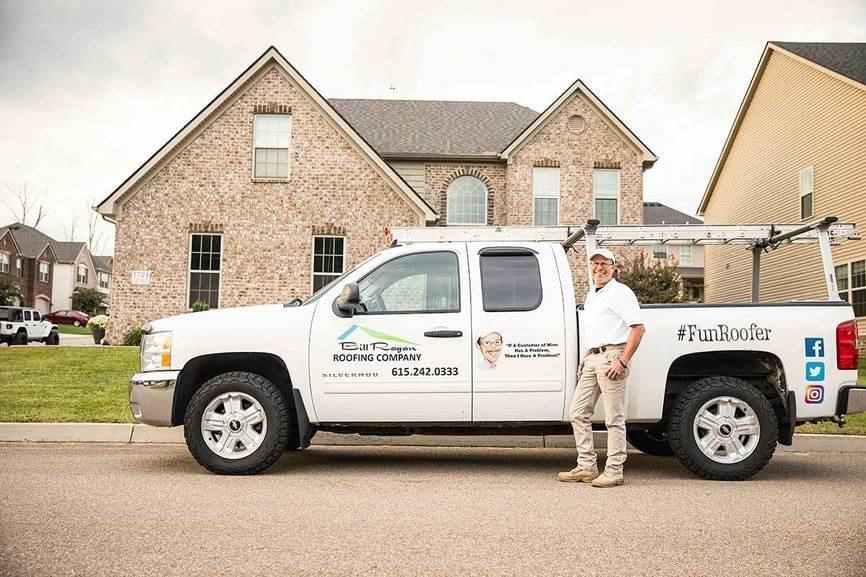 Bill Ragan Roofing Full truck