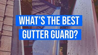 Video: What's the Best Gutter Guard? (Types, Cost, & More)