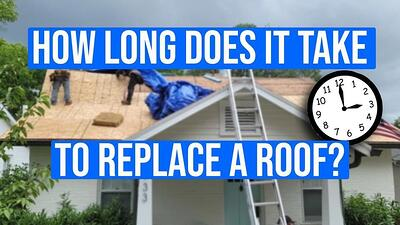 Video: How Long Does It Take to Replace a Roof?