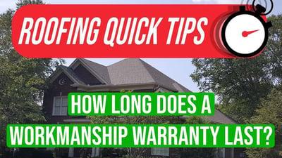 Video: How Long Does a Workmanship Warranty Last?