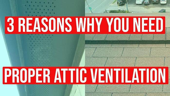 Video: 3 Reasons Why You Need Proper Attic Ventilation
