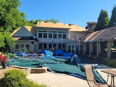 How is My Property Protected During a Roof Replacement?