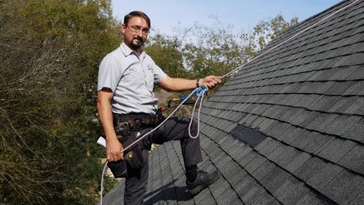 roof repair technician