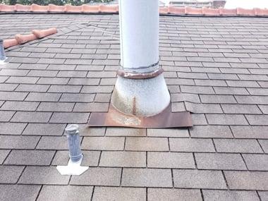 Gas Vent Leak