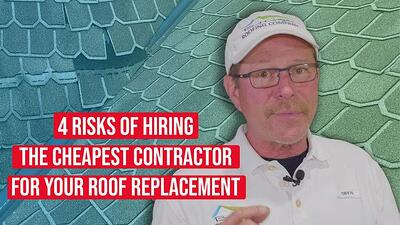 Video: 4 Risks of Hiring the Cheapest Roofing Contractor