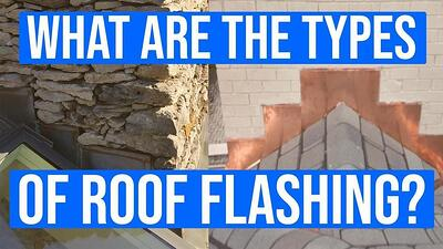 Video: What are the Types of Roof Flashing?