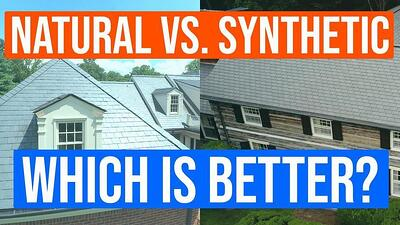 Video: Natural Slate vs. Synthetic Slate: Which Roof is Better?