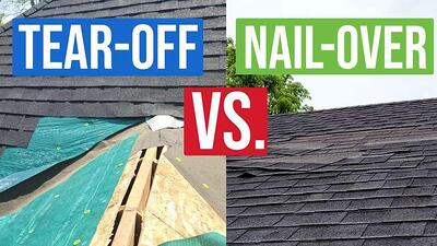 Video: Roof Tear Off vs. Roof Nail-Over: Which is Right for You?
