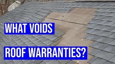 Video: What Voids Roof Warranties? (Material and Workmanship)