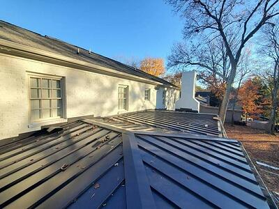 Can You Use Metal Roofing on a Flat Roof?